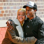A$AP Rocky & Rihanna Had Love on the Brain While Filming a Music Video: See the Pics thumbnail