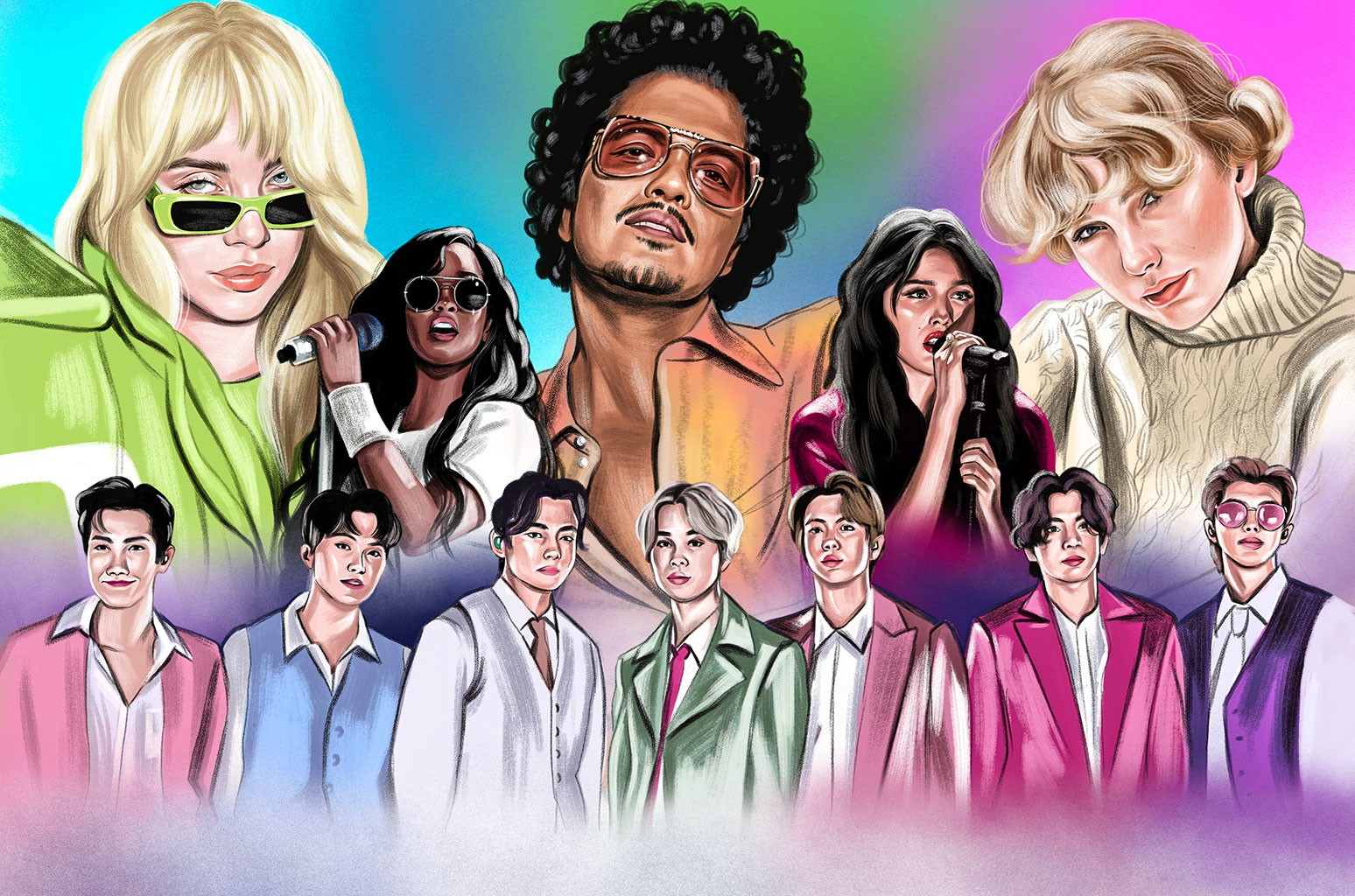 The Six Acts Most Likely to Break Records at the 2022 Grammys