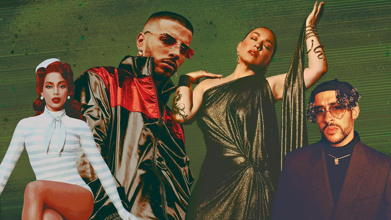 Anitta, Rauw Alejandro, Carla Morrison, Bad Bunny
