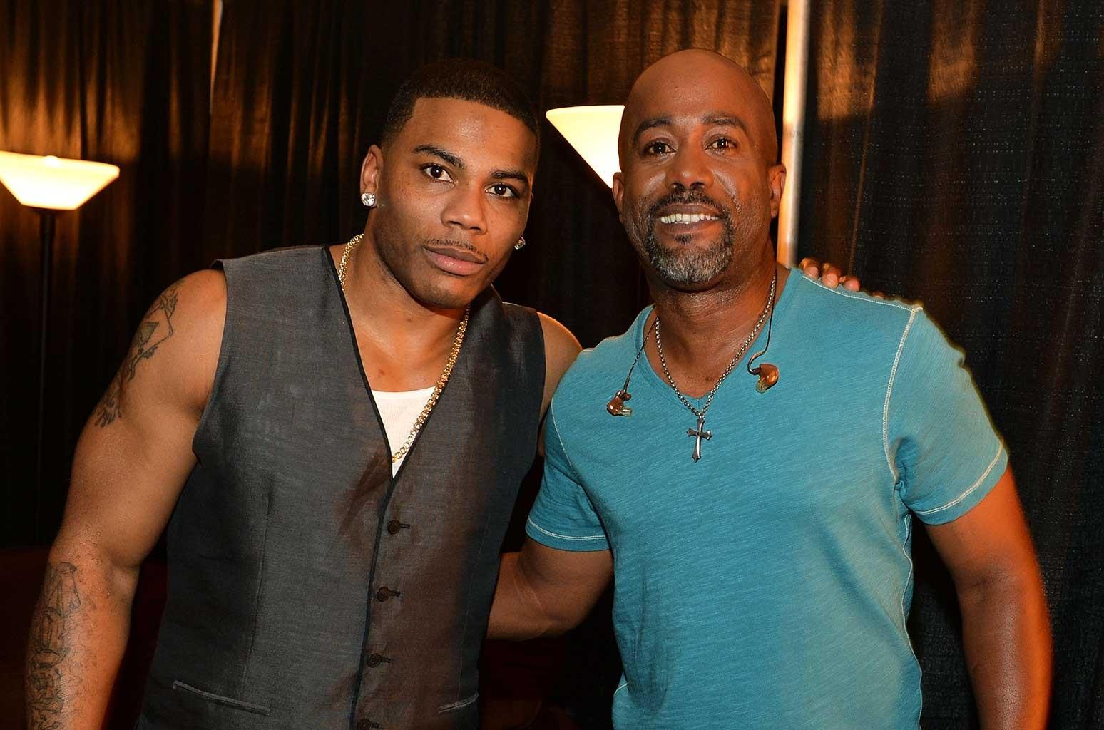Nelly, Darius Rucker