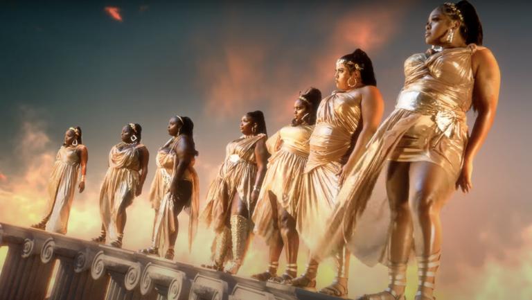 Lizzo's 'Rumors' Music Video Sparks Disney 'Hercules' Comparisons    Billboard