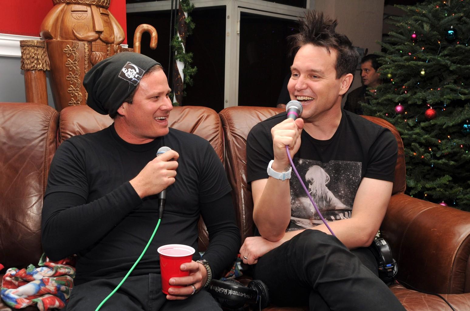 Tom DeLonge and Mark Hoppus