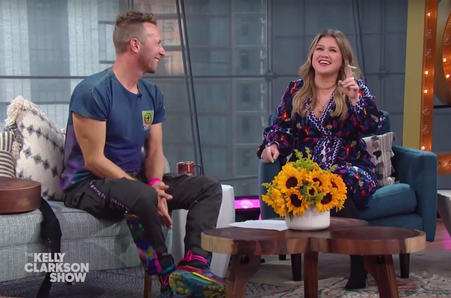 Chris Martin, Kelly Clarkson