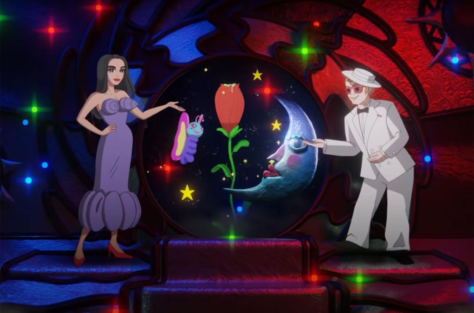 """Elton John and Dua Lipa """"Cold Heart"""""""