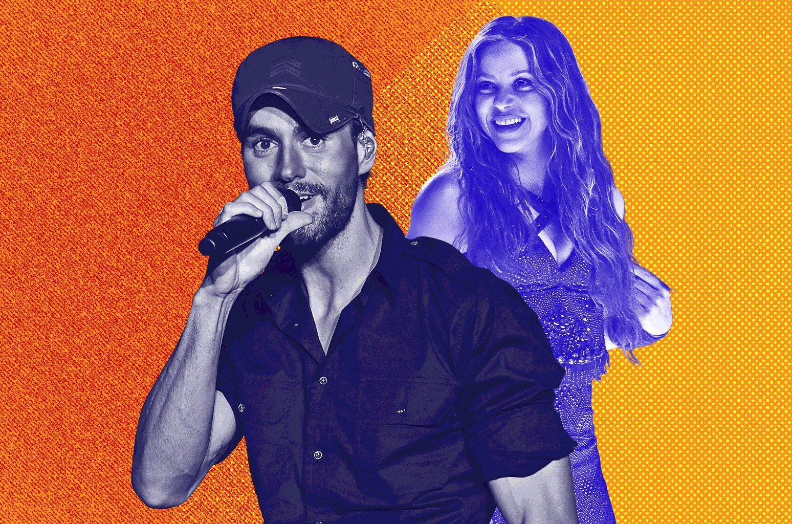 Enrique Iglesias, Shakira