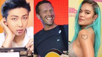 First Stream: BTS and Coldplay Collab, Karol G, Giveon & More Releases | Billboard News