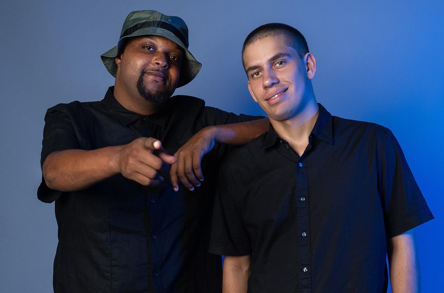 Jamil Davis and Matt Geffen