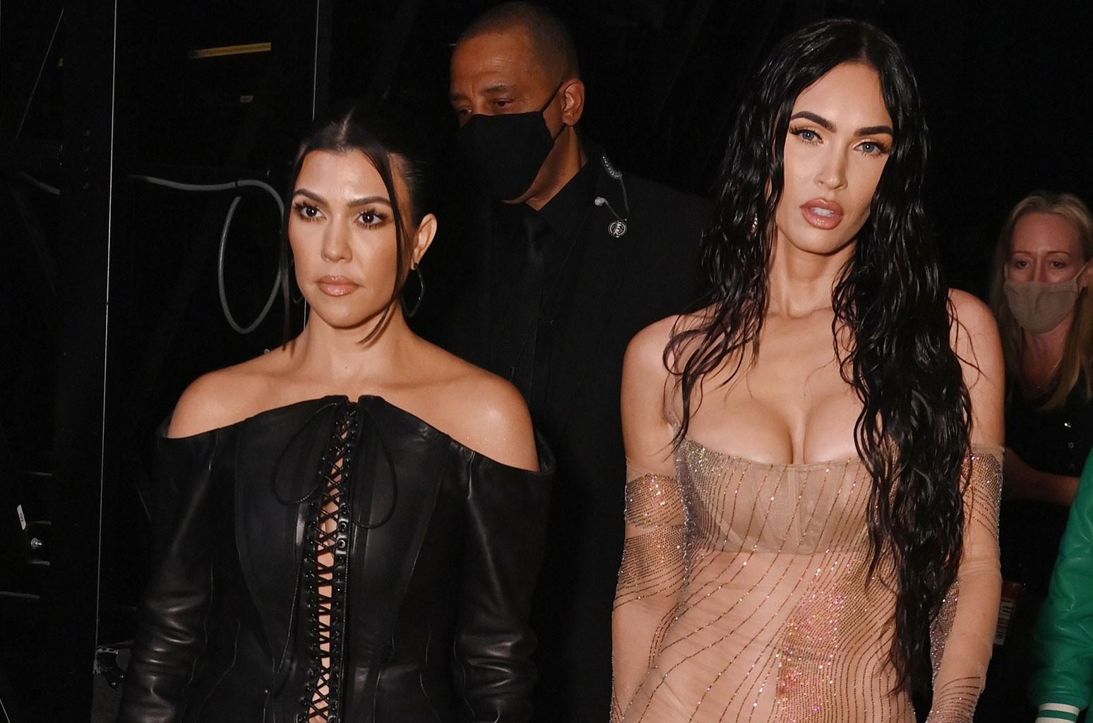 Kourtney Kardashian, Megan Fox