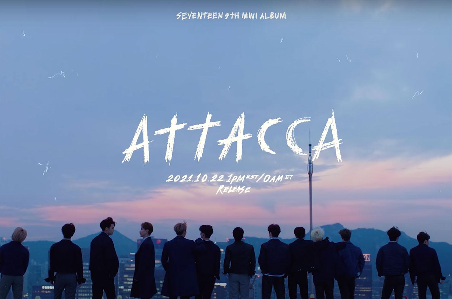 Seventeen 'Attacca' Concept Teaser Trailer: Watch | Billboard
