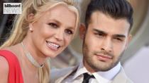 Britney Spears' Fiancé Sam Asghari Reacts to Netflix's 'Britney vs Spears' Documentary Trailer | Billboard News