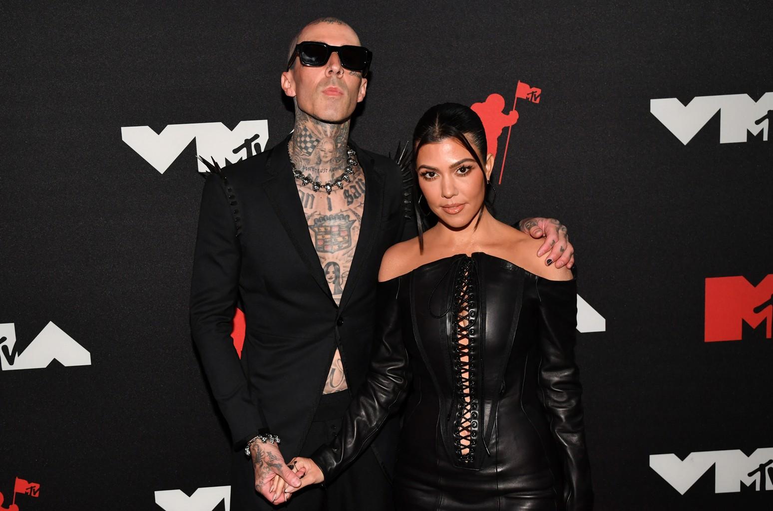 Kim Kardashian Shared First Look at Kourtney's Engagement Ring From Travis Barker