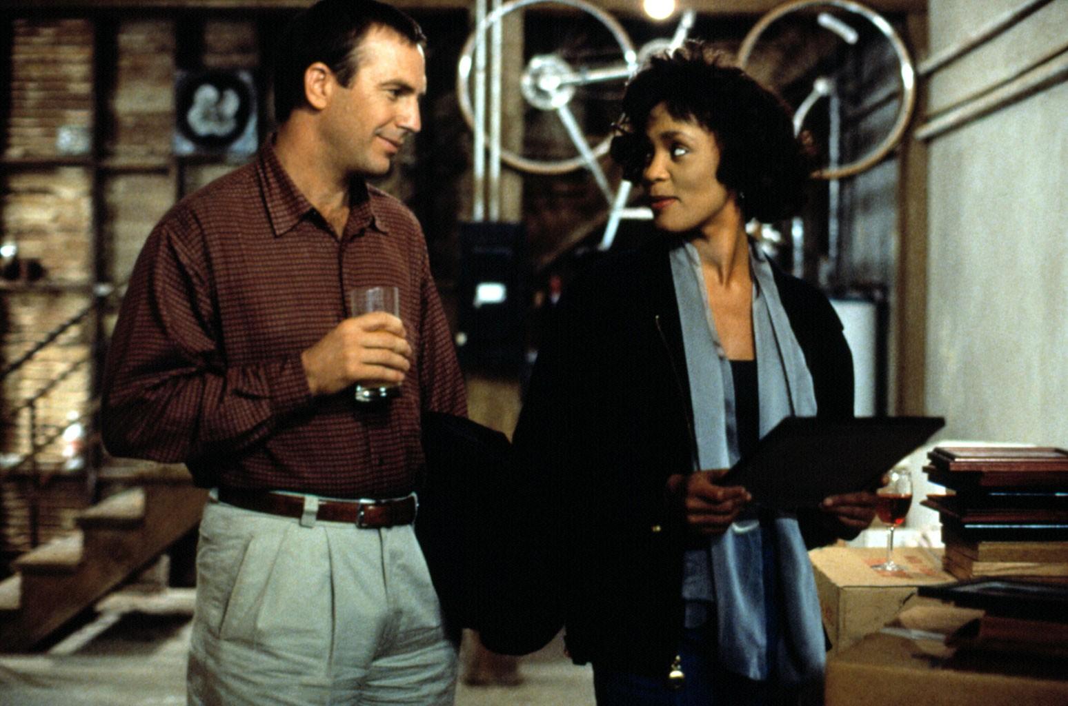 Kevin Costner, Whitney Houston