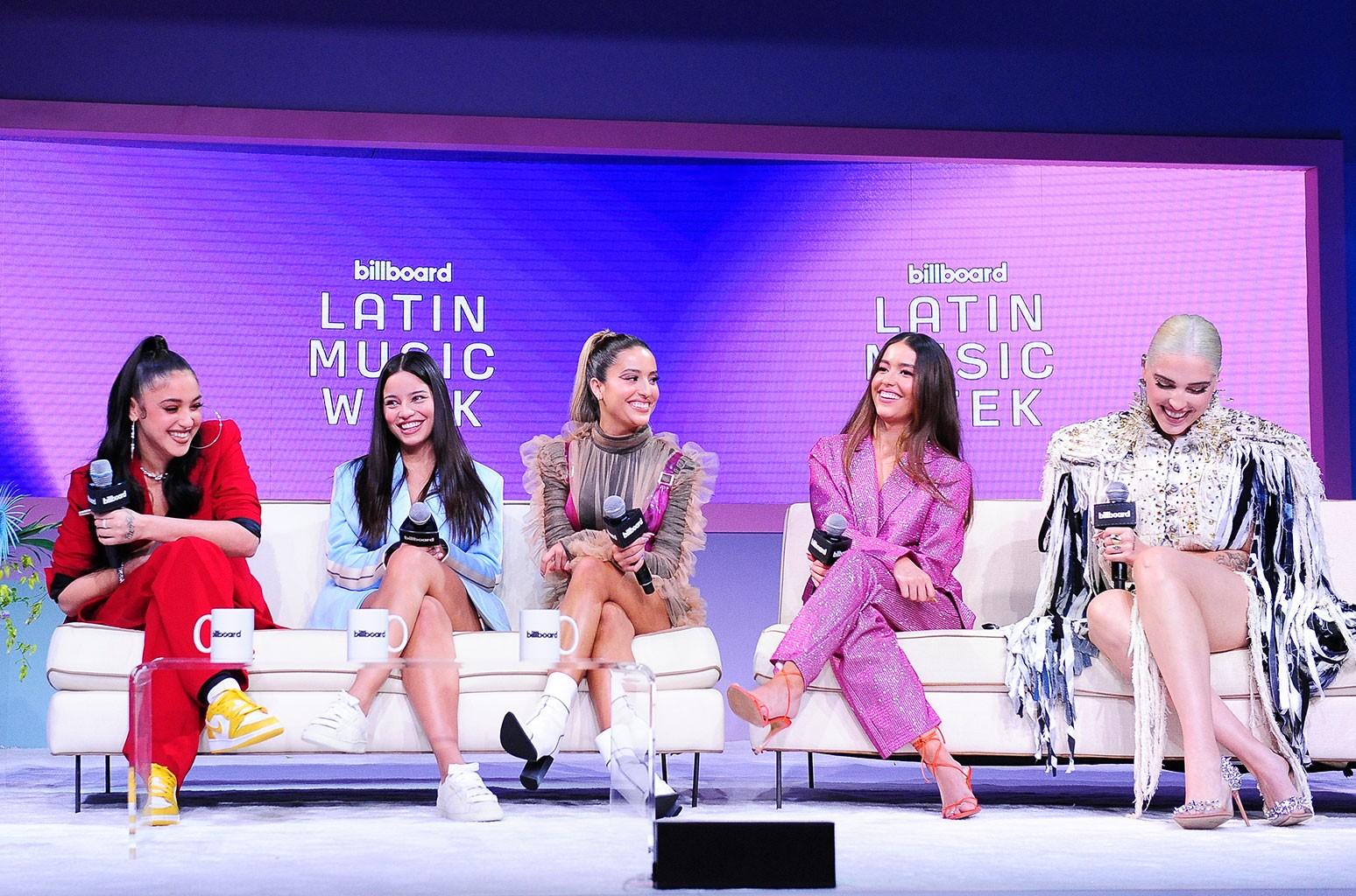 Mariah Angeliq, Emilia Mernes, Lucia Villa of Las Villa, Laura Villa of Las Villa and Elena Rose