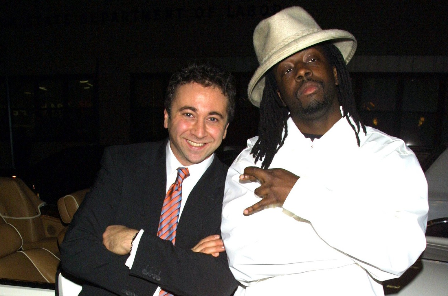 Jerry Blair and Wyclef Jean