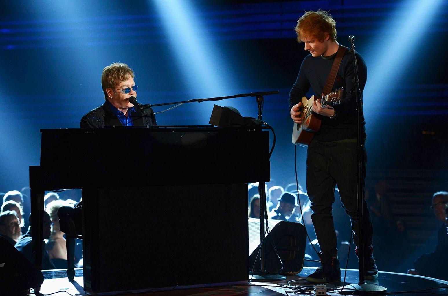 Elton John, Ed Sheeran
