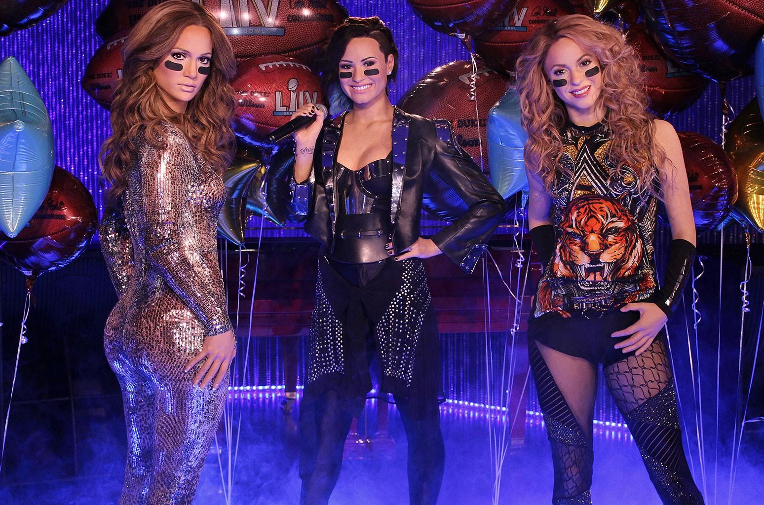 Jennifer Lopez, Demi Lovato, Shakira