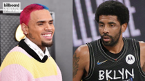 Chris Brown Praises Kyrie Irving for Refusing COVID-19 Vaccine: 'I Stand With My Brother' | Billboard News