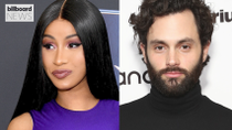Cardi B and Penn Badgley Had the Best Twitter Exchange: See Them Fangirl Over Each Other | Billboard News