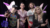 Raymix, Jhonny Caz, Erika Vidrio and Esteban on What Latin Artists Inspire Them, Pride Anthems & More | 2021 Billboard Latin Music Week