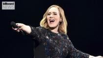 Adele's 'Easy On Me' Reaches No. 1 on Billboard Hot 100 | Billboard News