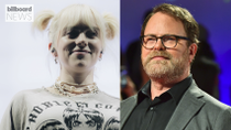 Billie Eilish and 'The Office' Star Rainn Wilson Join Forces For 'Urgent' Climate Message: 'We Must Stand Together' | Billboard News