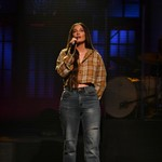 Kacey Musgraves Wore Just a Smile and Boots For Buff 'SNL' Performance