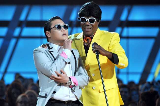 Psy & Tracy Morgan