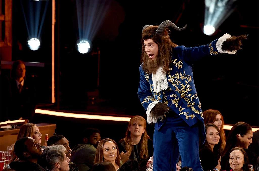 Adam DeVine performs onstage during the 2017 MTV Movie And TV Awards at The Shrine Auditorium on May 7, 2017 in Los Angeles.