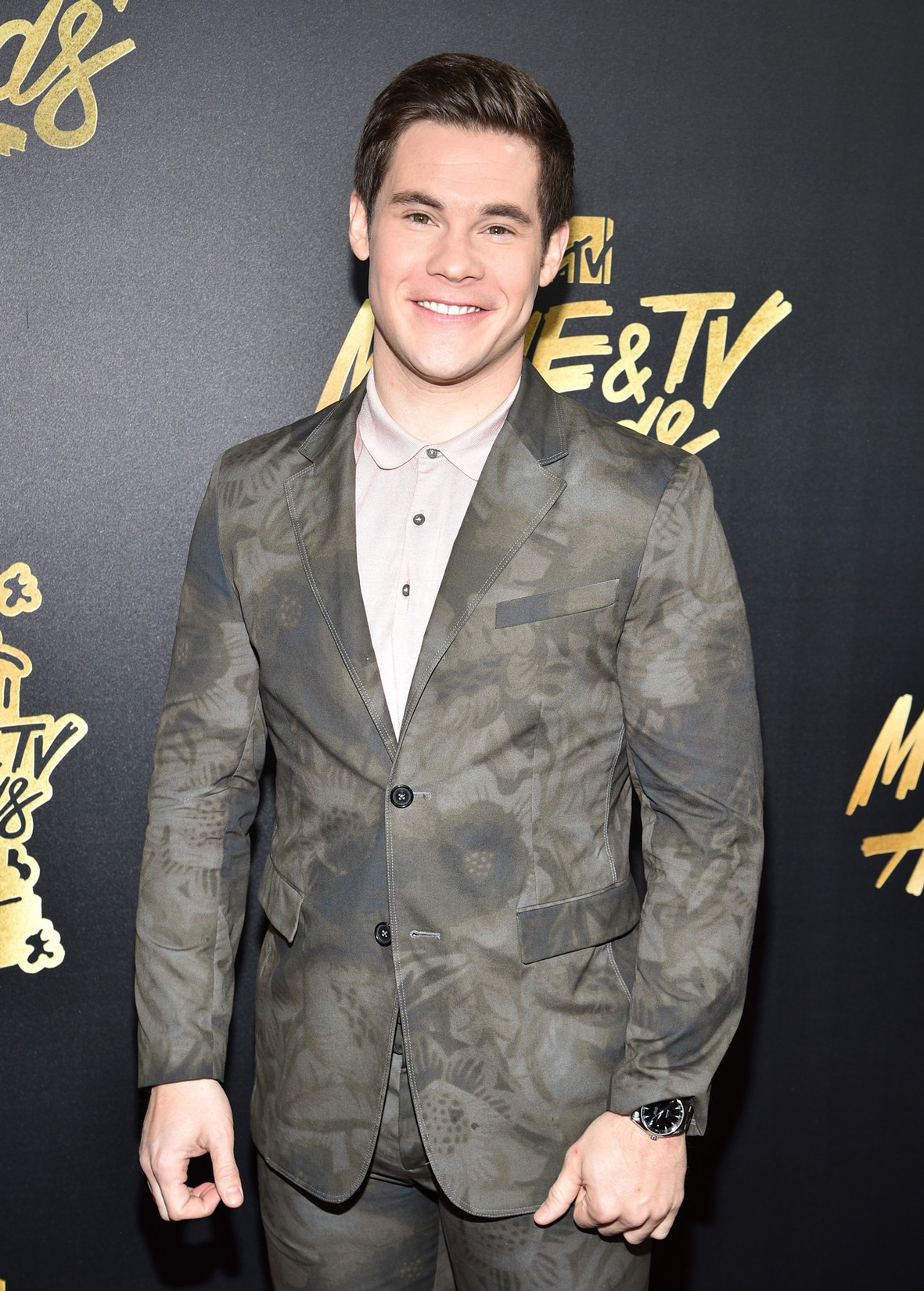 Adam DeVine attends the 2017 MTV Movie And TV Awards at The Shrine Auditorium on May 7, 2017 in Los Angeles.