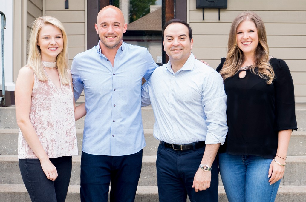 BMM's Jillian Whitefield (Assistant, Publishing), Alex Heddle (Senior Director, Publishing) Mike Molinar (General Manager) and Michelle Attardi (Manager, Publishing)