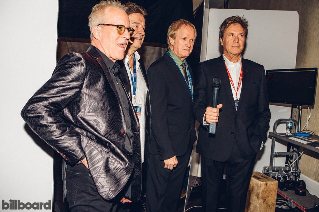 Chicago's James pankow, Walter Parazaider, Lee Loughnane and Robert Lamm