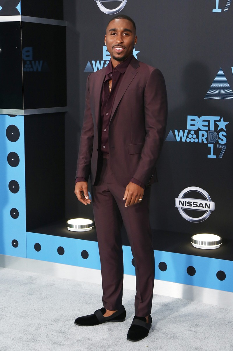 Demetrius Shipp Jr. at the 2017 BET Awards at Microsoft Square on June 25, 2017 in Los Angeles.