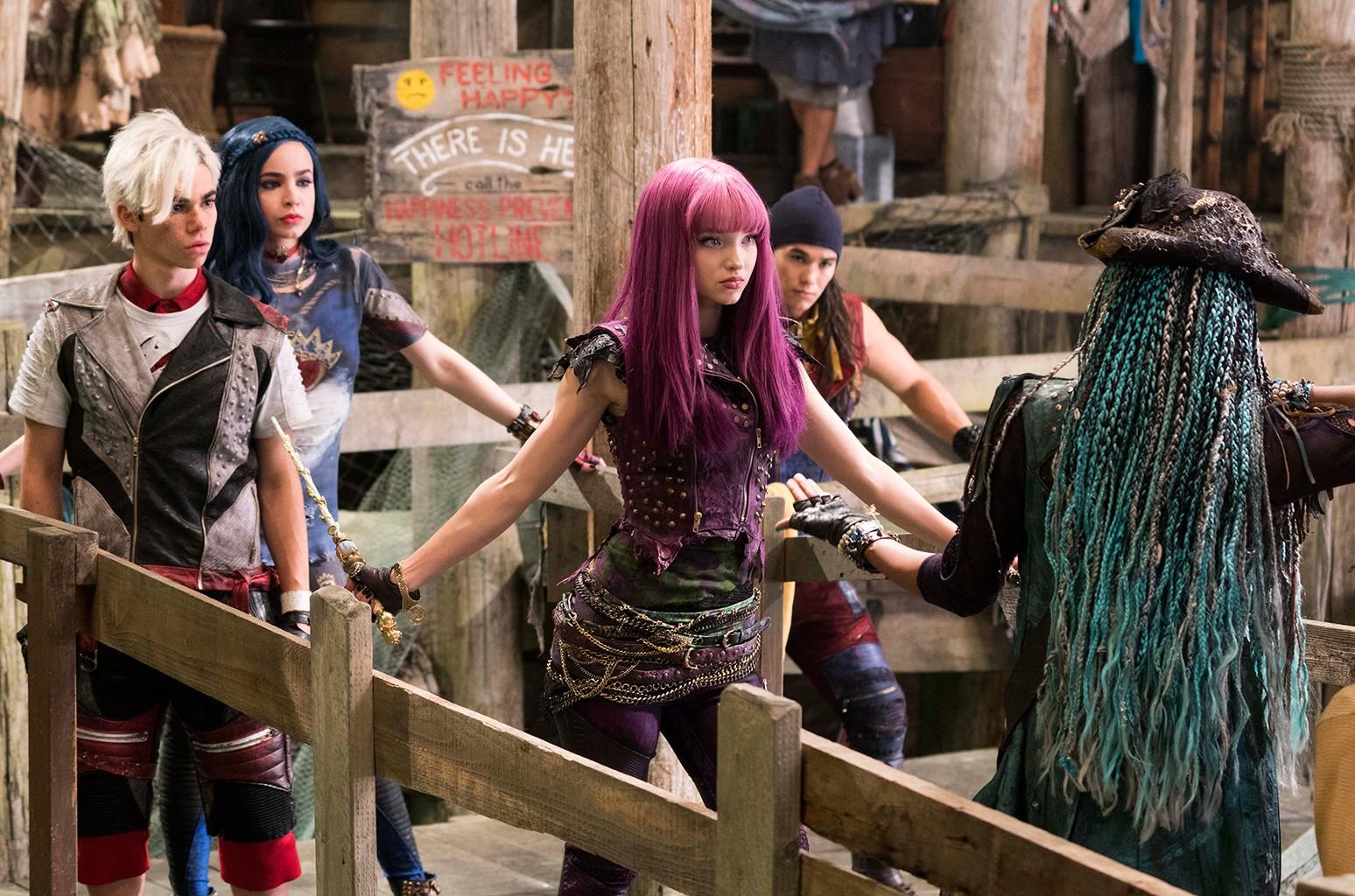 """A scene from Disney Channel's """"Descendants 2"""""""
