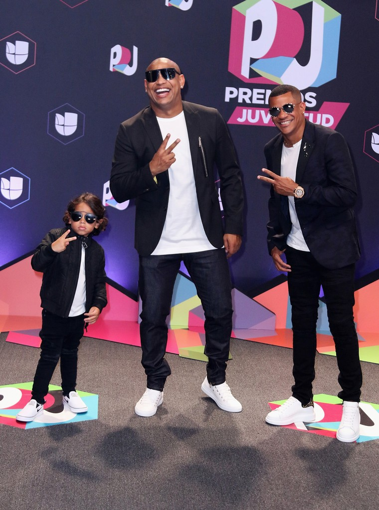 "Gente de Zona attends the Univision's ""Premios Juventud"" 2017 Celebrates The Hottest Musical Artists And Young Latinos Change-Makers at Watsco Center on July 6, 2017 in Coral Gables, Fla."