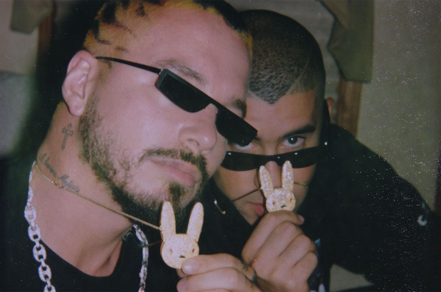 J Balvin and Bad Bunny