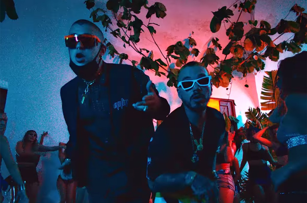 "J. Balvin and Bad Bunny ""QUE PRETENDES"""