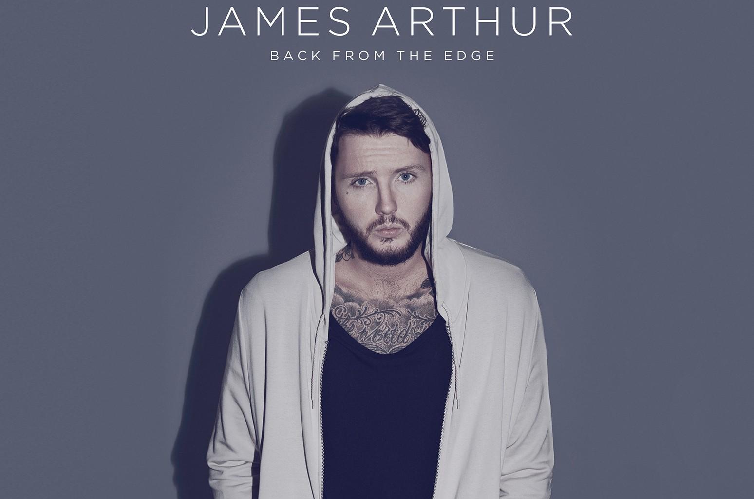 "James Arthur's ""Back From the Edge."""