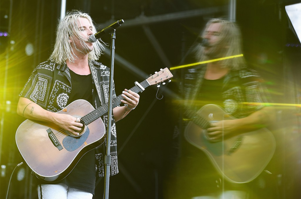 Judah Akers of Judah & The Lion performs onstage during the 2017 Governors Ball Music Festival - Day 1 at Randall's Island on June 2, 2017 in New York City.