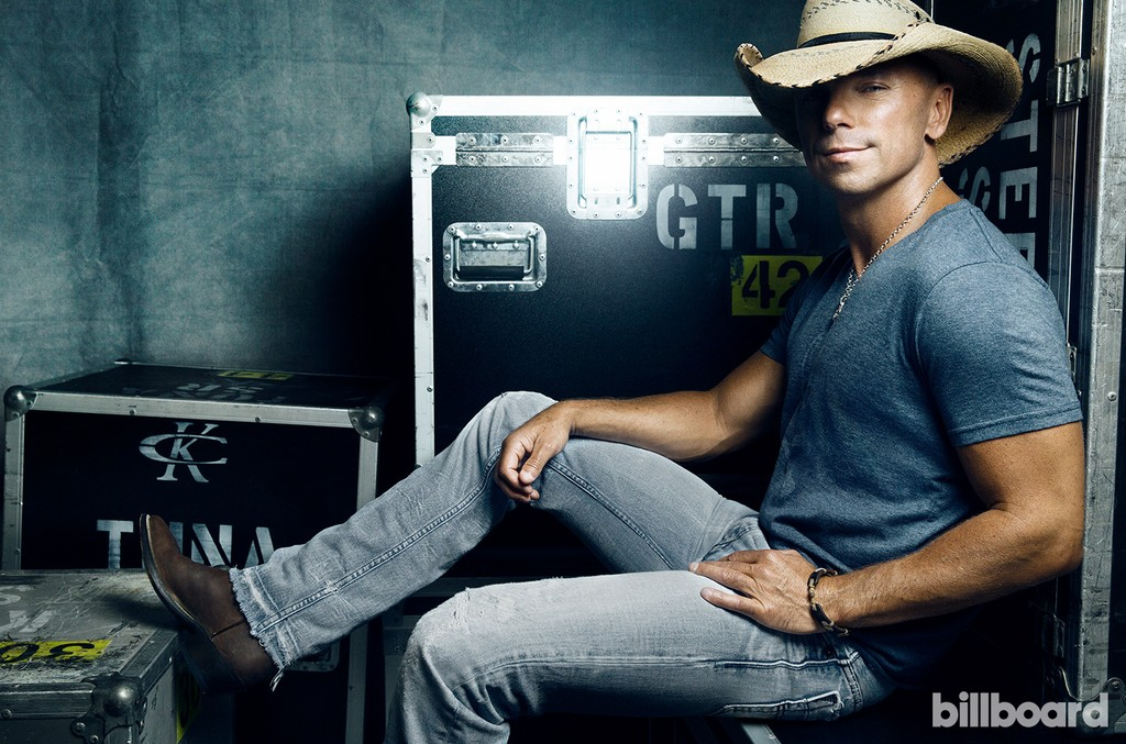 Kenny Chesney photographed on Aug. 25, 2014 in Nashville.