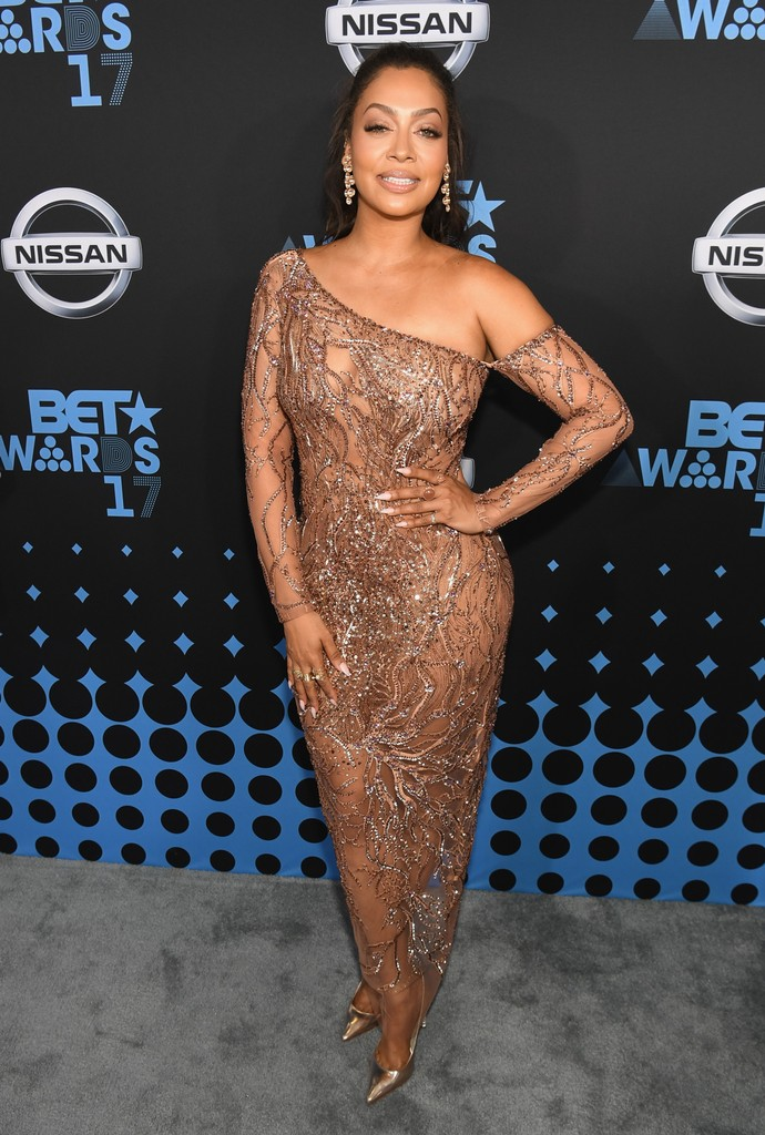 La La Anthony at the 2017 BET Awards at Staples Center on June 25, 2017 in Los Angeles.