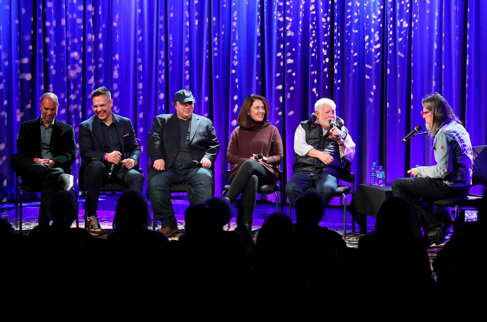 Jesse Collins, Raj Kapoor, David Wild, Chantel Sausedo and Ken Ehrlich speak with Scott Goldman