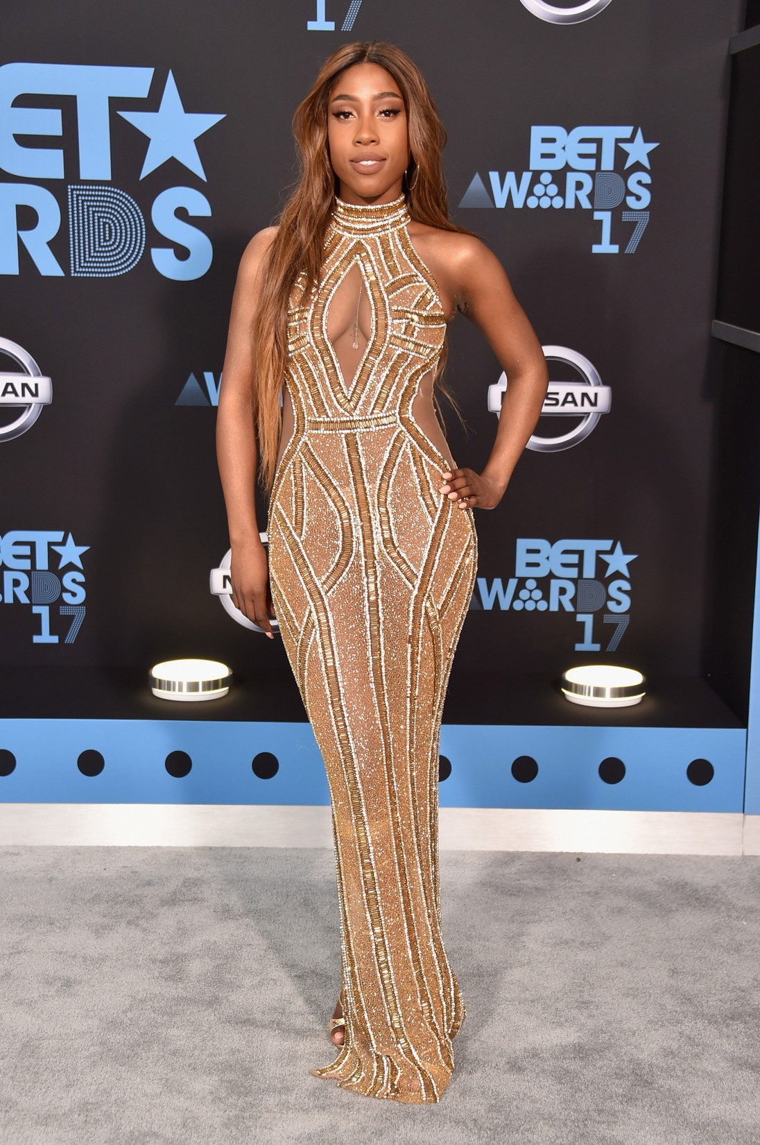 Sevyn Streeter at the 2017 BET Awards at Microsoft Square on June 25, 2017 in Los Angeles.