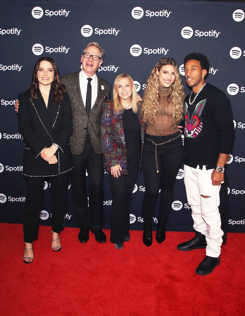 Sophia Bush, Paul Feig, Dawn Ostroff, Chief Content Officer, Spotify, Lele Pons and Ludacris
