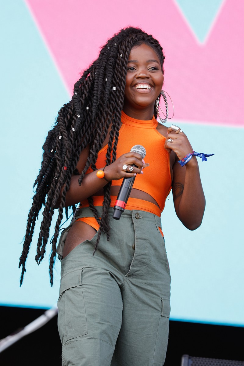 Tkay Maidza performs live during 2017 Governors Ball Music Festival - Day 1 at Randall's Island on June 2, 2017 in New York City.