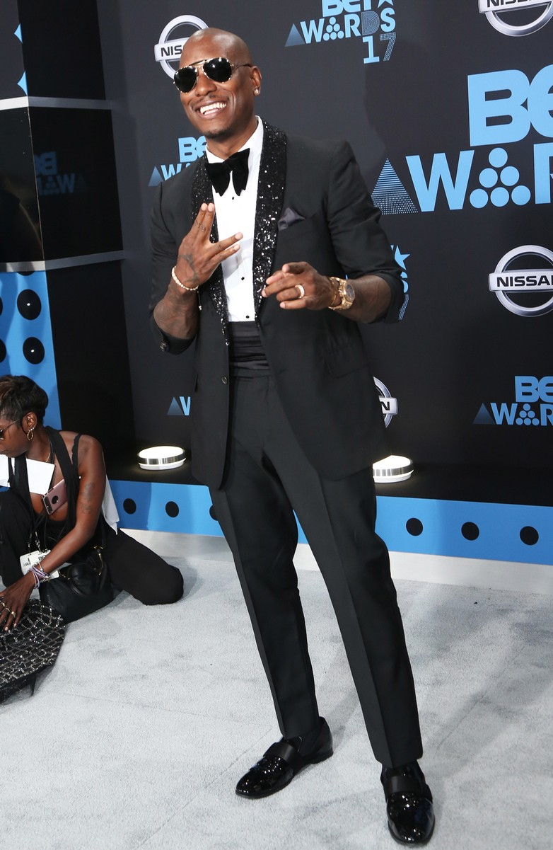 Tyrese Gibson at the 2017 BET Awards at Microsoft Square on June 25, 2017 in Los Angeles.