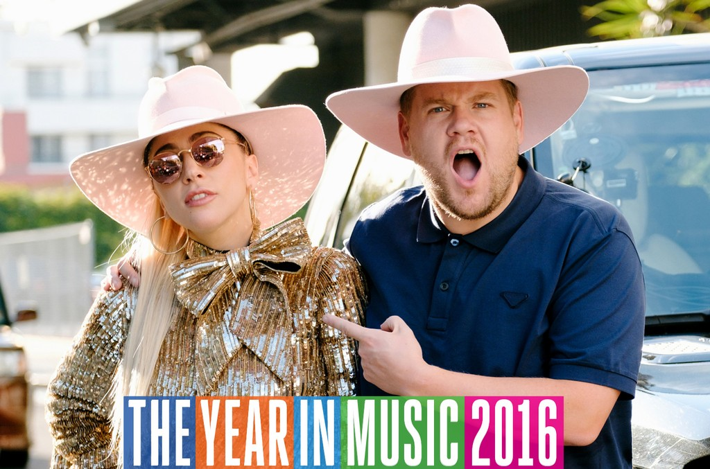 """Lady Gaga joins James Corden for Carpool Karaoke on """"The Late Late Show with James Corden."""""""