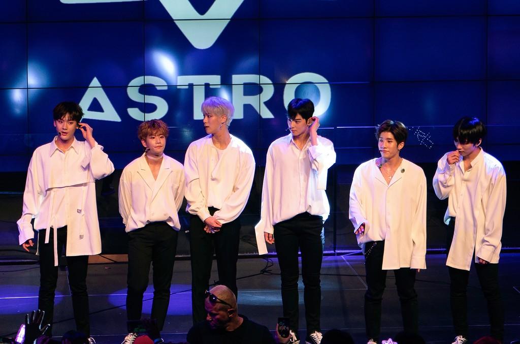 ASTRO at K-Expo 2018.