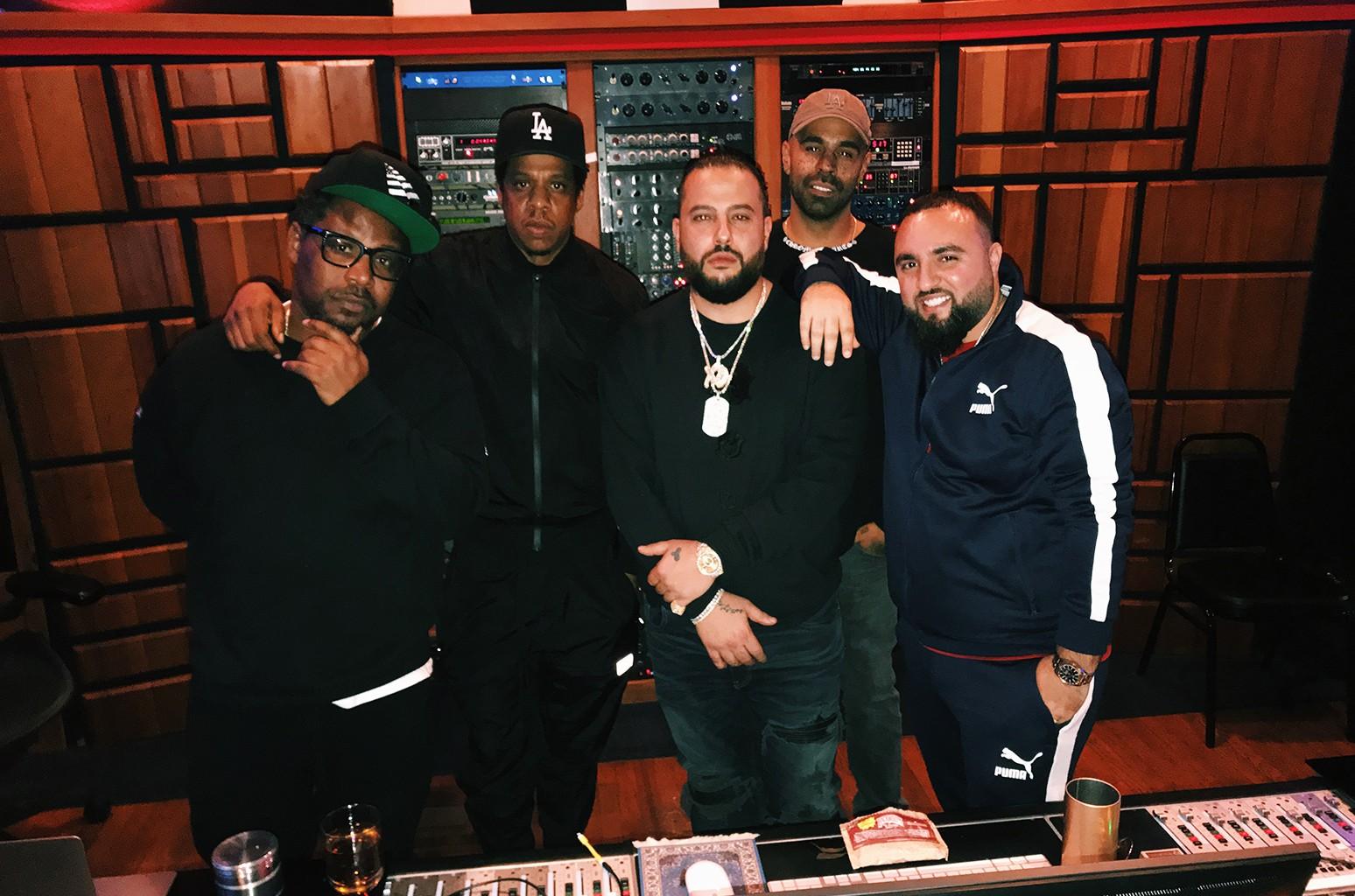 Belly & Jay Z in the studio