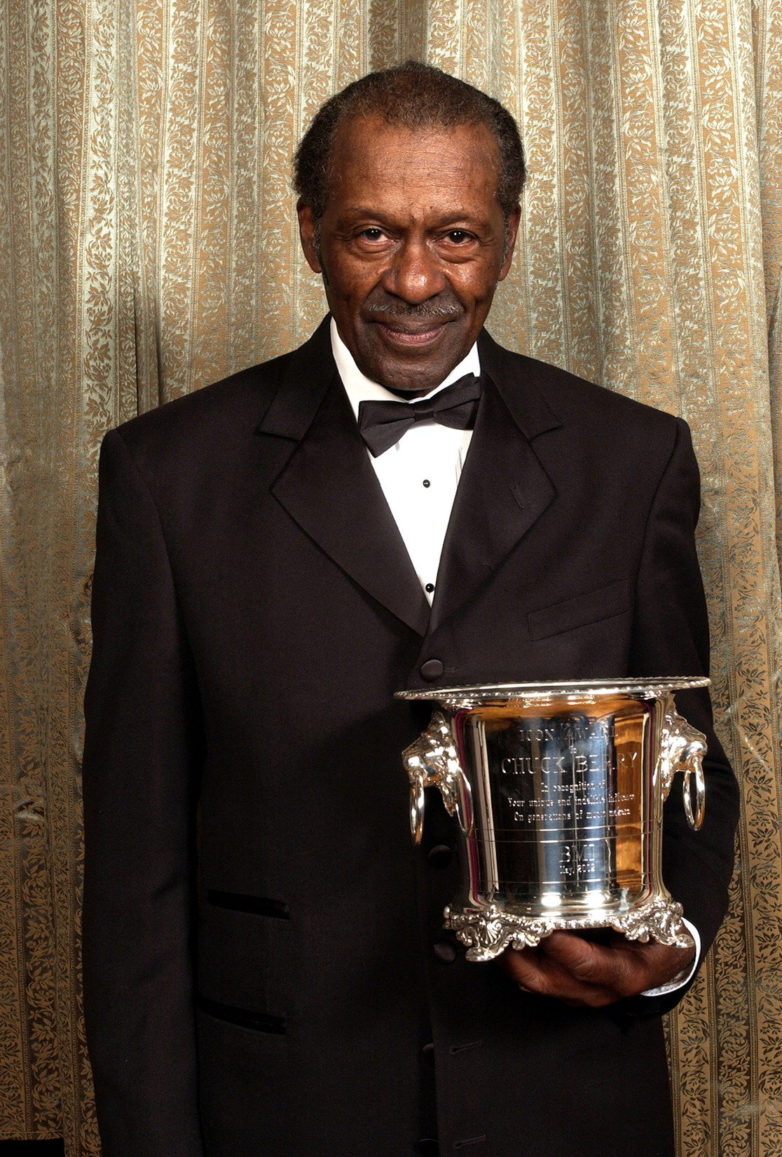 Chuck Berry during 2002 BMI Pop Awards at Regent Beverly Wilshire in Beverly Hills, Calif.