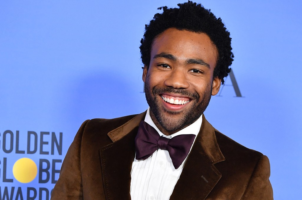 Donald Glover during the 74th Annual Golden Globe Awards